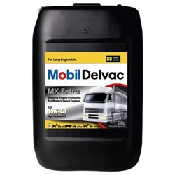 масло моторное Mobil Delvac MX Extra 10W40 20л (550027381) - фото 4547
